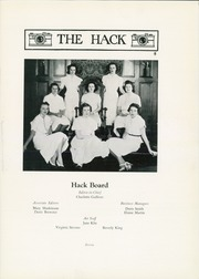 Page 11, 1938 Edition, Centenary College - Hack Yearbook (Hackettstown, NJ) online yearbook collection