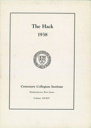 Page 7, 1938 Edition, Centenary College - Hack Yearbook (Hackettstown, NJ) online yearbook collection
