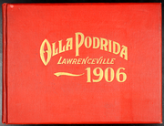 Page 1, 1906 Edition, Lawrenceville School - Olla Podrida Yearbook (Lawrenceville, NJ) online yearbook collection