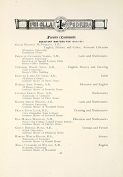 Page 16, 1911 Edition, Lawrenceville School - Olla Podrida Yearbook (Lawrenceville, NJ) online yearbook collection