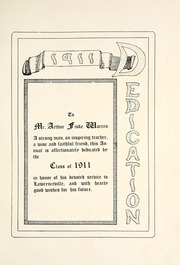 Page 9, 1911 Edition, Lawrenceville School - Olla Podrida Yearbook (Lawrenceville, NJ) online yearbook collection