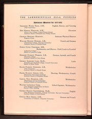 Page 16, 1918 Edition, Lawrenceville School - Olla Podrida Yearbook (Lawrenceville, NJ) online yearbook collection