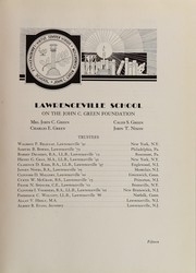 Page 17, 1936 Edition, Lawrenceville School - Olla Podrida Yearbook (Lawrenceville, NJ) online yearbook collection