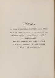 Page 10, 1943 Edition, Lawrenceville School - Olla Podrida Yearbook (Lawrenceville, NJ) online yearbook collection