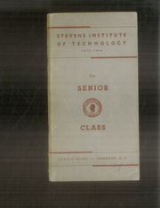 1940 Edition, Stevens Institute of Technology - Link Yearbook (Hoboken, NJ)