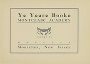 Page 3, 1910 Edition, Montclair Academy - Yearbook (Montclair, NJ) online yearbook collection