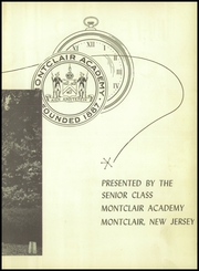 Page 7, 1952 Edition, Montclair Academy - Yearbook (Montclair, NJ) online yearbook collection
