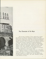 Page 13, 1964 Edition, Montclair Academy - Yearbook (Montclair, NJ) online yearbook collection