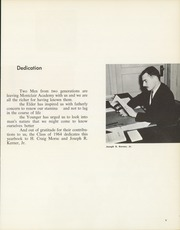 Page 9, 1964 Edition, Montclair Academy - Yearbook (Montclair, NJ) online yearbook collection