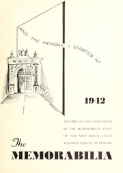 Page 5, 1942 Edition, Kean University - Memorabilia Yearbook (Newark, NJ) online yearbook collection