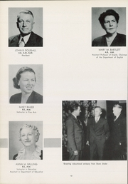 Page 16, 1949 Edition, Kean University - Memorabilia Yearbook (Newark, NJ) online yearbook collection