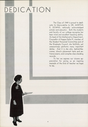 Page 8, 1949 Edition, Kean University - Memorabilia Yearbook (Newark, NJ) online yearbook collection