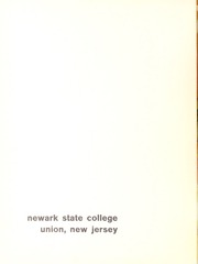 Page 6, 1965 Edition, Kean University - Memorabilia Yearbook (Newark, NJ) online yearbook collection