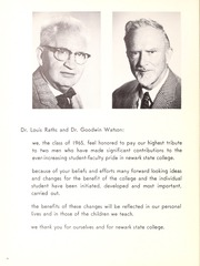 Page 8, 1965 Edition, Kean University - Memorabilia Yearbook (Newark, NJ) online yearbook collection