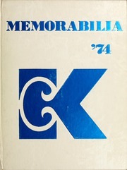 1974 Edition, Kean University - Memorabilia Yearbook (Newark, NJ)
