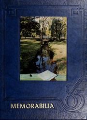 1985 Edition, Kean University - Memorabilia Yearbook (Newark, NJ)