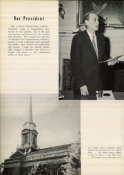 Page 12, 1953 Edition, Douglass College - Quair Yearbook (New Brunswick, NJ) online yearbook collection