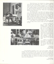 Page 14, 1969 Edition, Douglass College - Quair Yearbook (New Brunswick, NJ) online yearbook collection