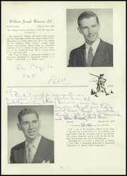 Page 17, 1951 Edition, Newark Academy - Polymnian Yearbook (Livingston, NJ) online yearbook collection