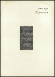 Page 5, 1951 Edition, Newark Academy - Polymnian Yearbook (Livingston, NJ) online yearbook collection