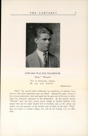 Page 11, 1926 Edition, Carteret Academy - Carteret Yearbook (Orange, NJ) online yearbook collection