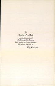 Page 5, 1926 Edition, Carteret Academy - Carteret Yearbook (Orange, NJ) online yearbook collection