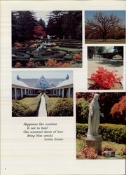 Page 12, 1987 Edition, Georgian Court University - Courtier Yearbook (Lakewood, NJ) online yearbook collection