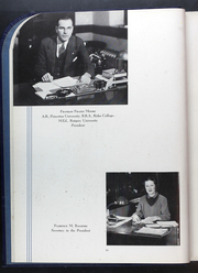 Page 14, 1937 Edition, Rider University - Shadow Yearbook (Lawrenceville, NJ) online yearbook collection