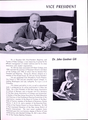 Page 12, 1950 Edition, Rider University - Shadow Yearbook (Lawrenceville, NJ) online yearbook collection