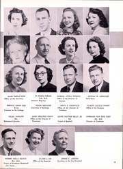 Page 16, 1950 Edition, Rider University - Shadow Yearbook (Lawrenceville, NJ) online yearbook collection