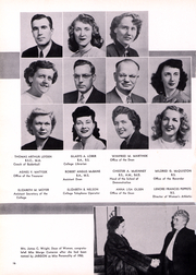 Page 17, 1950 Edition, Rider University - Shadow Yearbook (Lawrenceville, NJ) online yearbook collection