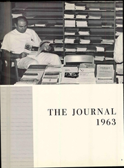 Page 8, 1963 Edition, Seton Hall College of Medicine - Journal Yearbook (Jersey City, NJ) online yearbook collection