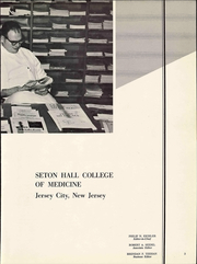 Page 9, 1963 Edition, Seton Hall College of Medicine - Journal Yearbook (Jersey City, NJ) online yearbook collection