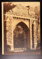 1963 Edition, Drew University - Oak Leaves Yearbook (Madison, NJ)