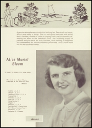Page 17, 1949 Edition, Academy of the Sacred Heart - Sacre Coeur Yearbook (Hoboken, NJ) online yearbook collection