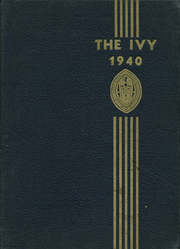 Page 1, 1940 Edition, St Marys Hall - Ivy Yearbook (Burlington, NJ) online yearbook collection