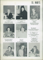 Page 12, 1958 Edition, St Marys Hall - Ivy Yearbook (Burlington, NJ) online yearbook collection