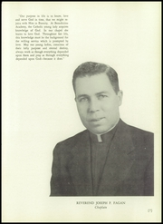 Page 11, 1956 Edition, Benedictine Academy - Benedictine Yearbook (Elizabeth, NJ) online yearbook collection