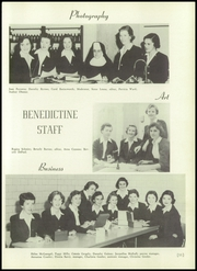 Page 15, 1956 Edition, Benedictine Academy - Benedictine Yearbook (Elizabeth, NJ) online yearbook collection