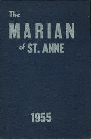 1955 Edition, St Annes School - Marian Yearbook (Fair Lawn, NJ)