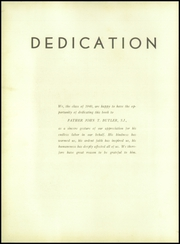 Page 8, 1940 Edition, St Peters Preparatory School - Petrean Yearbook (Jersey City, NJ) online yearbook collection