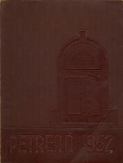1952 Edition, St Peters Preparatory School - Petrean Yearbook (Jersey City, NJ)
