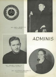Page 10, 1956 Edition, St Peters Preparatory School - Petrean Yearbook (Jersey City, NJ) online yearbook collection