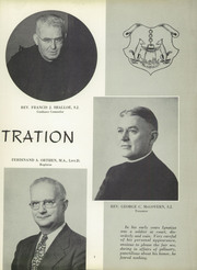 Page 11, 1956 Edition, St Peters Preparatory School - Petrean Yearbook (Jersey City, NJ) online yearbook collection