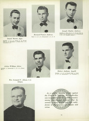Page 14, 1956 Edition, St Peters Preparatory School - Petrean Yearbook (Jersey City, NJ) online yearbook collection