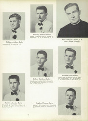 Page 15, 1956 Edition, St Peters Preparatory School - Petrean Yearbook (Jersey City, NJ) online yearbook collection