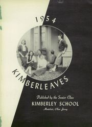 Page 5, 1954 Edition, Kimberley School - Kimberleaves Yearbook (Montclair, NJ) online yearbook collection