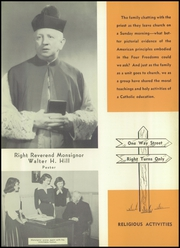 Page 11, 1952 Edition, St Johns Cathedral School - Chimes Yearbook (Paterson, NJ) online yearbook collection