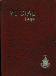 Page 1, 1944 Edition, Rutgers Preparatory School - Ye Dial Yearbook (New Brunswick, NJ) online yearbook collection