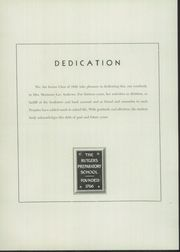 Page 8, 1948 Edition, Rutgers Preparatory School - Ye Dial Yearbook (New Brunswick, NJ) online yearbook collection